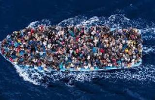 62 kişinin Güney Kıbrıs'a gitmeye çalıştığı...