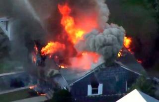 ABD'de doğalgaz patlamaları: 1 ölü