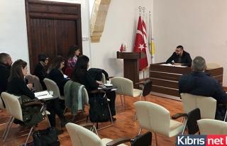AB'ye Proje Sunan Belediyelerle Hazırlık Toplantısı...