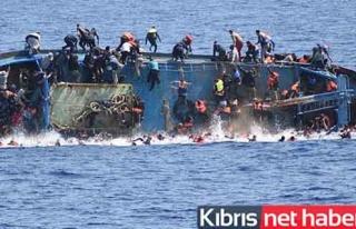 Akdeniz'de yine kaçak göçmen dramı yaşandı