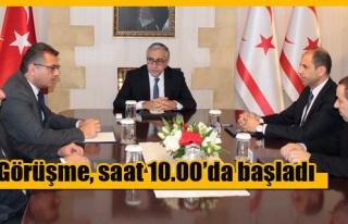 Akıncı Hükümet Ortağı Partilerin Başkanlarıyla...