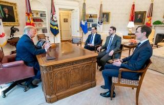 Albayrak, ABD Başkanı Trump ile görüştü
