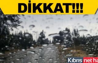 Alsancak'ta yağmur yeniden başladı
