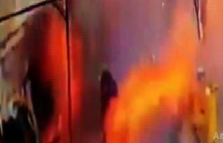 Antalya'da kaçak kazı sırasında patlama
