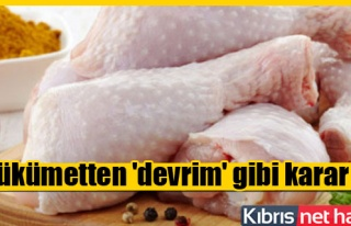 Artık 'tavuk eti' gelebilecek