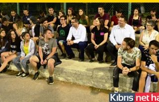 Başbakan Erhürman Kantara Yaz Kampı'nı ziyaret