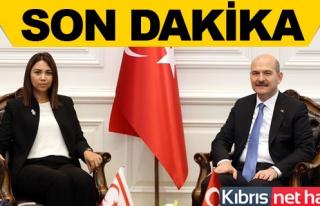 Baybars, Türkiye İçişleri Bakanı Soylu İle Görüştü