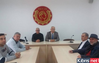 "BKP HEYETİ DEV-İŞ'İ ZİYARET ETTİ… ""GÖRÜŞME..."