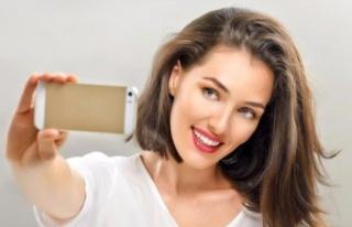 Burnunuzun yapısına göre selfie çekin