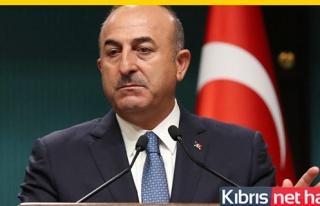 Çavuşoğlu: Kıbrıs'ta sıfır asker hayal bile...