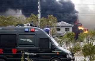 Çin'deki kimya tesisinde patlamada ölü sayısı...