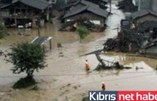 Çin`deki Şiddetli Yağışlarda En Az 12 Kişi Öldü
