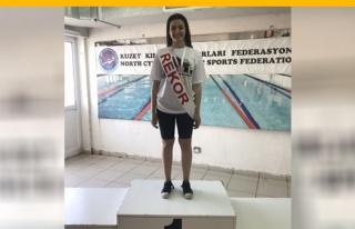 DAÜ Kadın Yüzme Takımı'ndan Rekorlu Şampiyonluk