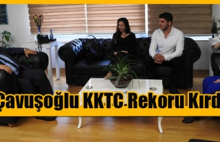 DAÜ Öğrencisi Adem Çavuşoğlu KKTC Rekoru Kırdı