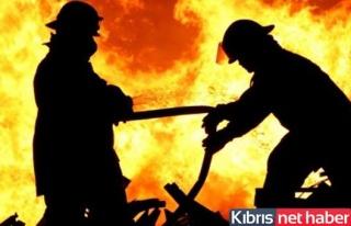 Dikmen'de yangın çıktı!