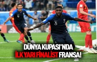Dünya Kupası'nda İlk Finalist Belli Oldu