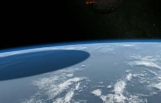 Dünya'ya 500 Kilometre Çapında Bir Göktaşı...