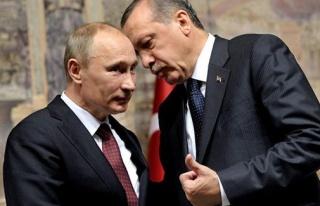 Erdoğan Putin ile telefonla görüştü
