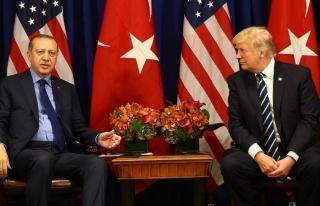 Erdoğan, Trump İle Görüştü