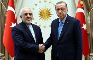 Erdoğan, Zarif'i kabul etti