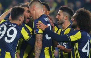 Fenerbahçe Avrupa'da ışık saçıyor