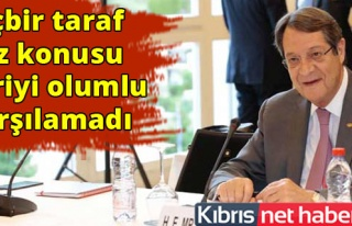 Güney Kıbrıs 3 belge sundu