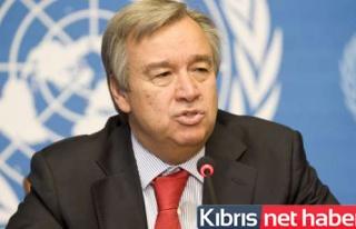 Guterres'ten Kıbrıs çağrısı!