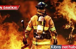 Hamitköy'de büyük yangın!!!