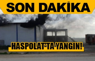 Haspolat'ta yangın!