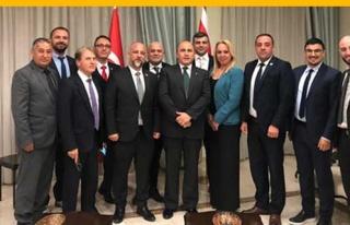İŞAD, Ali Murat Başçeri'yi ziyaret etti