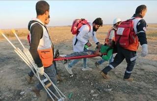 İsrail Askerleri Gazze Sınırında 60 Filistinliyi...