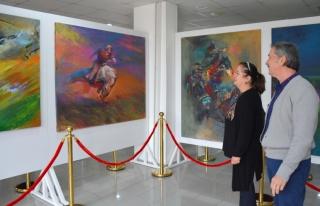 Kazakistan Ve Kırgızistan Sanatçıları Sergisi...
