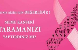 KIBRIS VAKIFLAR BANKASI, MEME KANSERİ FARKINDALIK...