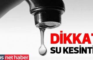 Lefkoşa Surlariçi ve Çağlayan bölgelerinde su...