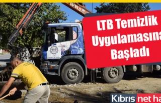 LTB Yeni Temizlik Uygulamasına Başladı