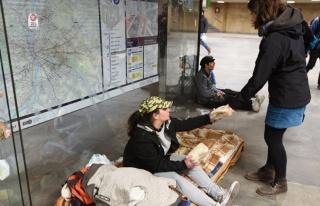 Macaristan'da 'evsiz olmak' artık suç