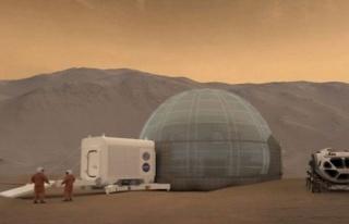 Mars'ta uzun süreli kalış için dev iglo inşa...