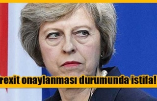 May'den Brexit anlaşmasına karşılık istifa teklifi