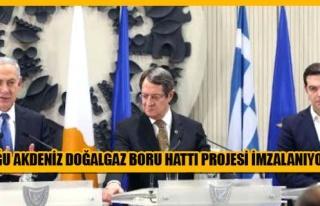 Netanyahu: Bu proje refah ve huzur getirecektir