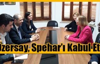 Özersay, Spehar'ı Kabul Etti