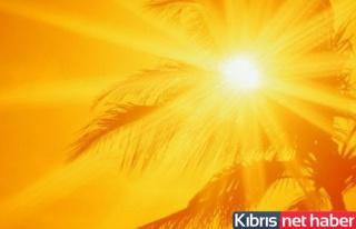Pazartesi hava sıcaklığı 34 derece olacak