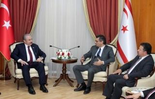 Şentop, Başbakan Erhürman'ı Ziyaret Etti