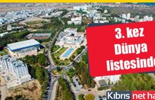 Sıralamada Doğu Akdeniz Üniversitesi de var