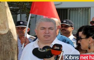 TKP-YG zamları protesto etti