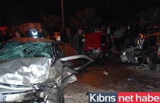 Trafik kazalarında 25 kişi yaralandı