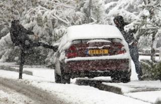 Trodos'a Çıkan Tüm Yollar Kapatıldı