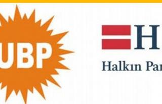 UBP-HP Görüşmesi 14.00'te Yapılacak