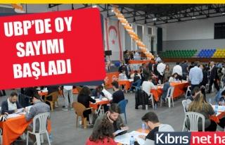 UBP Parti Meclisi Seçimi Oy Sayımı Başladı