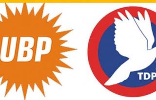 UBP, TDP'yi ziyaret etti