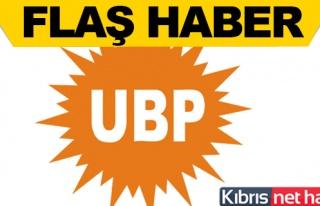 UBP'de yeni dönem 'resmen' başladı